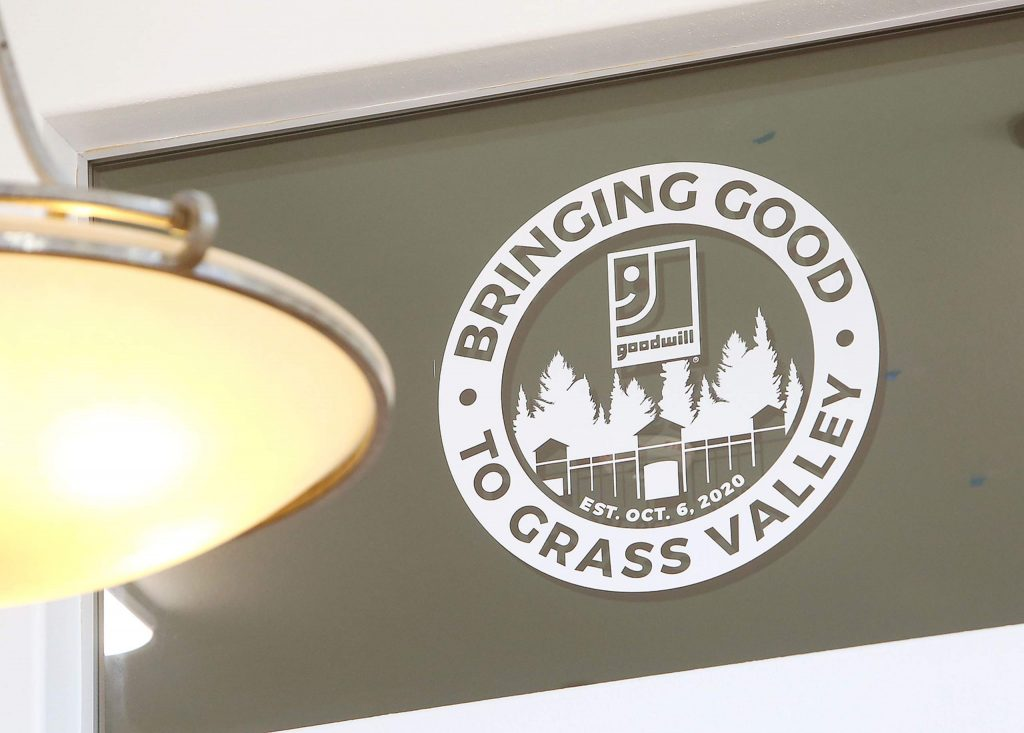 The new Grass Valley Goodwill held its opening day Tuesday at 1145 Sutton Way.