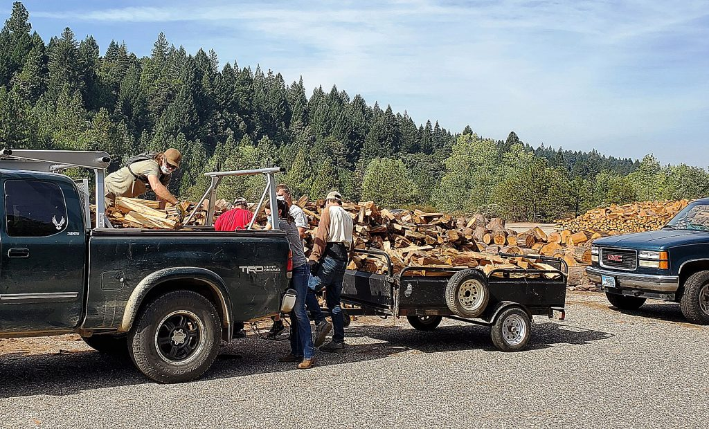 Volunteers with trucks, muscles and gloves are needed to load and deliver firewood to seniors during the third and final Nevada County Senior Services Firewood Distribution Day Nov. 7.