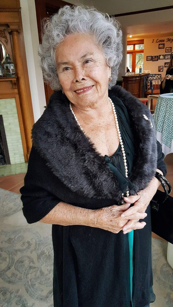 Ruth Renfrow will be honored with a drive-by birthday celebration Sunday, past her Coyote Street driveway, as she sits on a throne and wears a tiara.