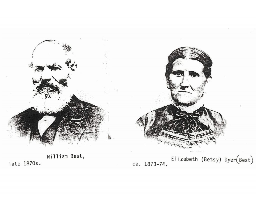 William Best (1823-1890) mined on three continents, pursuing china clay, copper and gold. The skills he acquired helped him make a success of the Magenta claim in Grass Valley, just south of today's Memorial Park.