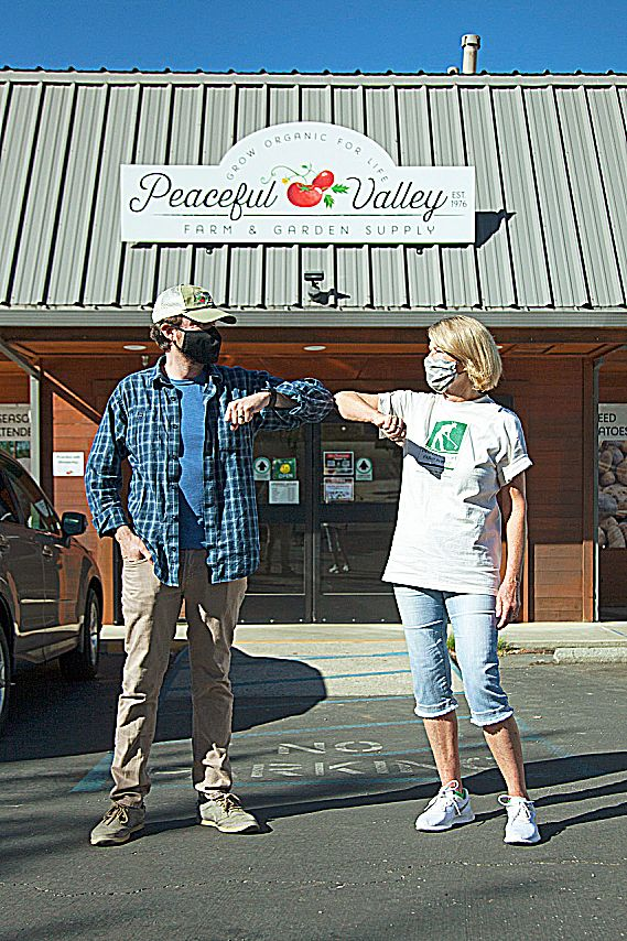 "When the business was established in 1976 on Peaceful Valley Road in Nevada City, organic gardening (growing without manufactured chemicals and nurturing the soil) was largely considered the domain of ""hippies."""