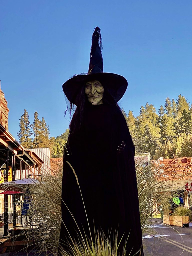 Spooky characters are taking over Mill Street in Grass Valley!