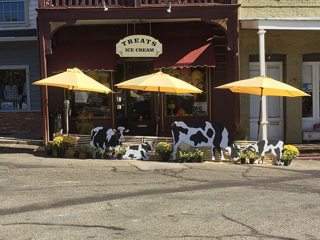 Nevada City is now allowing cows on the street.