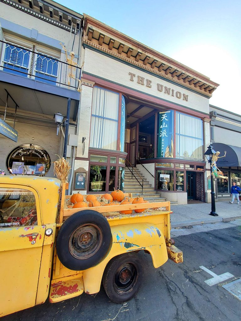 Downtown Grass Valley celebrates fall and Halloween.