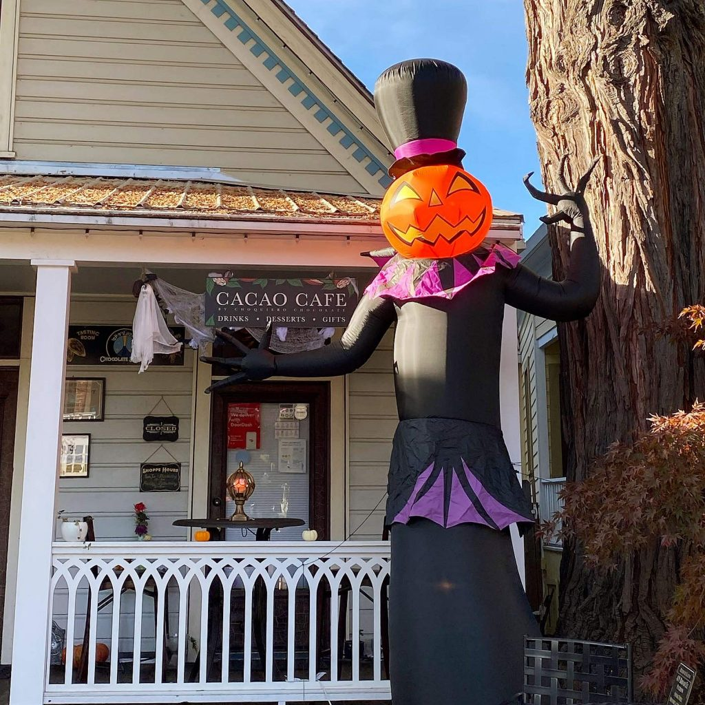On Halloween,Choquiero will be following strict COVID protocols to give out candy from 4-7 .p.m. Stop by to check out the Halloween section.