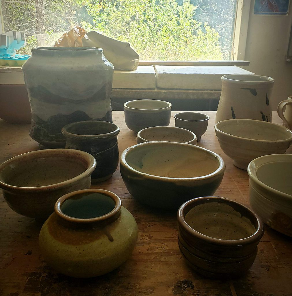 An advanced ceramics studio course will be offered with Dik Hotchkiss at Woolman Oct. 13 through Nov. 29.