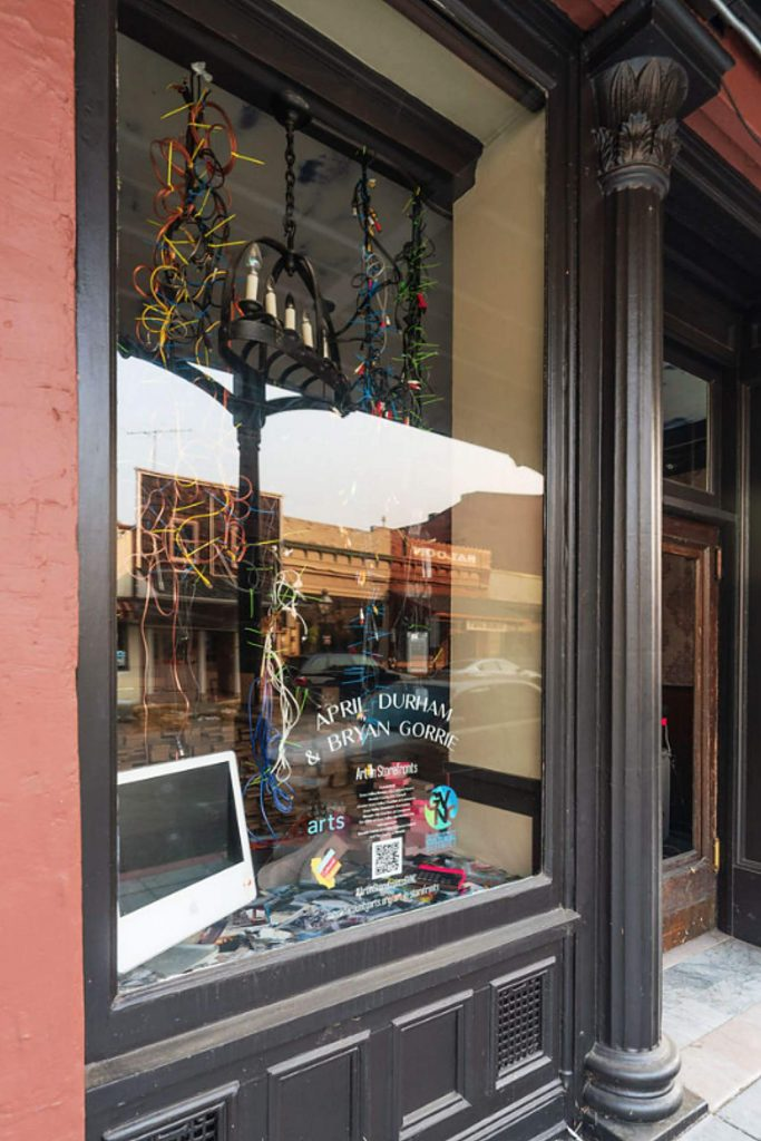 Artists April Durham & Bryan Gorrie can be found at 217 Broad Street, Nevada City.