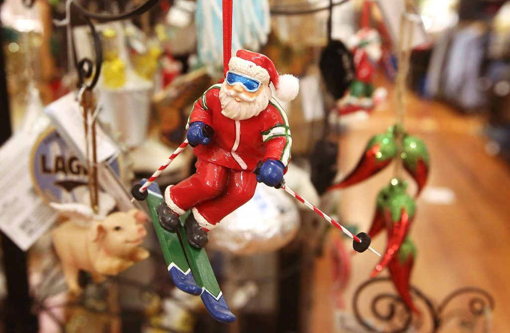 A full selection of Christmas holiday decorations can be found at Yuba Blue in Grass Valley.