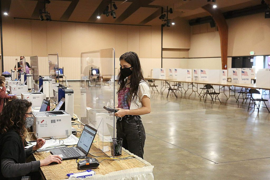 Nevada County vote centers will be open from 7 a.m. to 8 p.m. today at: