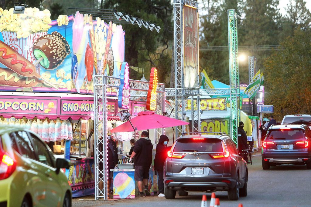 People craving some of their favorite Nevada County Fair food don't have to wait another year for their fix. Concessions from Butler Amusements are in town for the weekend operating  from 11 a.m. to 8 p.m today and Sunday at Gate No.1.