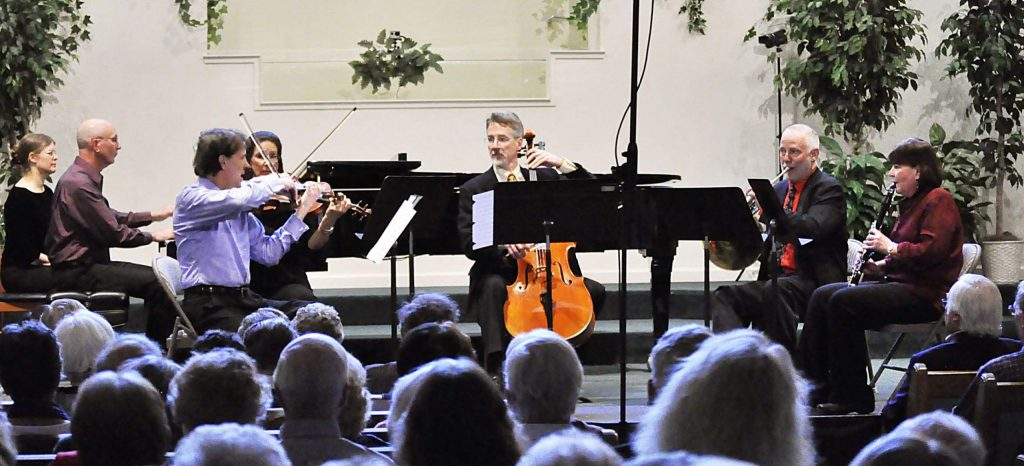 The program is an exciting and enchanting program of quintessential and beloved chamber works featuring Aaron Copland's Appalachian Spring (chamberversion), Wolfgang Amadeus Mozart's Eine Kleine Nachtmusik, and Ernst Dohnanyi's Sextet in C Major.