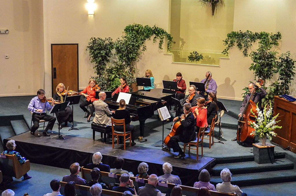 """On Sunday, Nov. 15 at 2 p.m., InConcert Sierra presents a virtual presentation of its March 2014 concert """"Chamber Favorites with Local Favorites."""""""