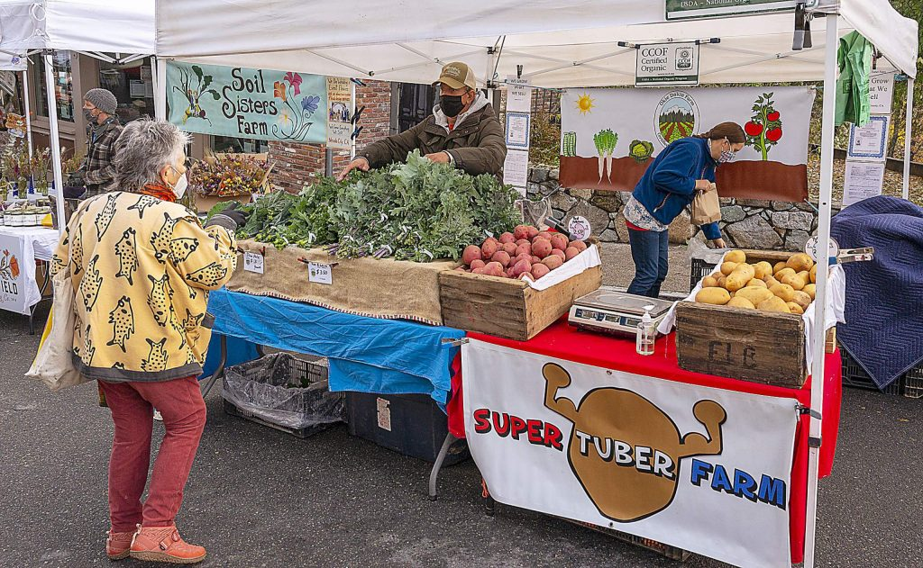 The Nevada City Farmers' Market will hold its final market of the summer season this coming Saturday. The winter market will be held on the first and third Saturdays in December, then on the first Saturday from January to April.