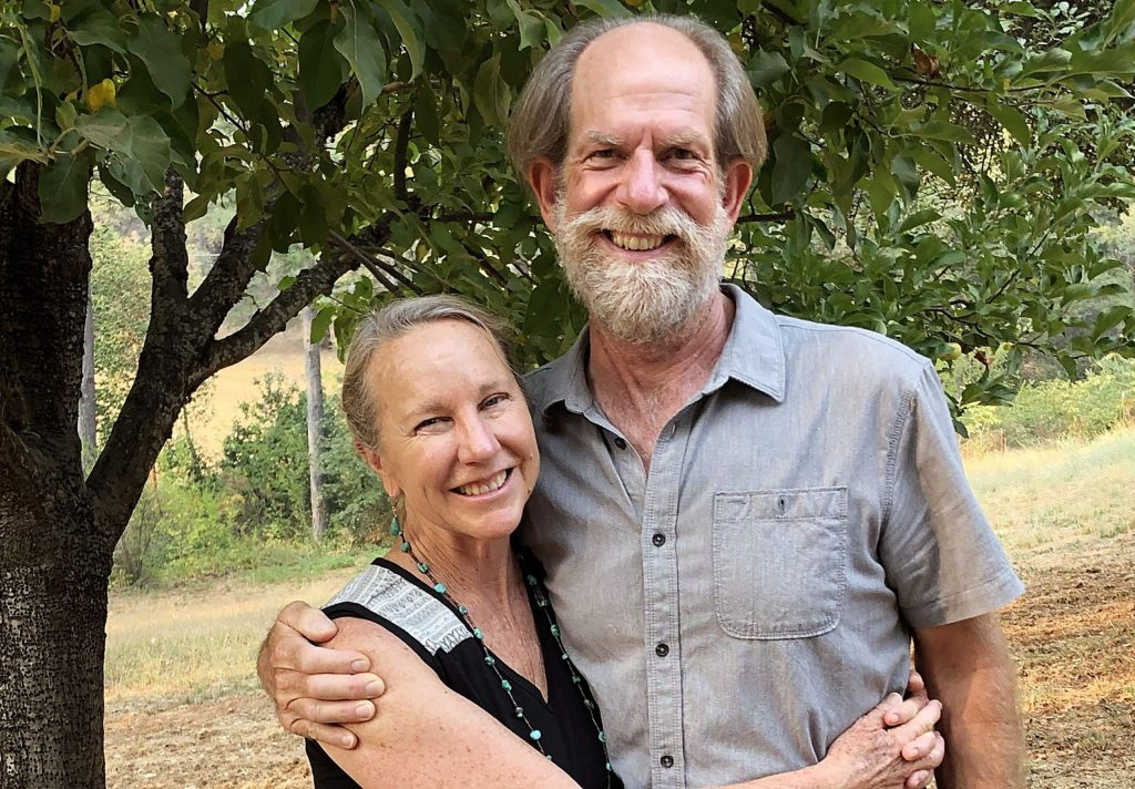 Now retired, Alan Haight and Jo McProud of Riverhill Farm founded Good Food for All, which helps provide fresh organic produce to low income families.