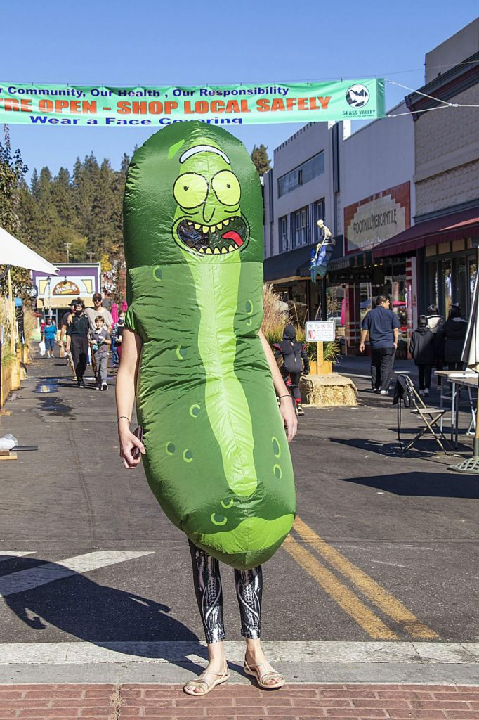 Giant pickle on Mill Street!