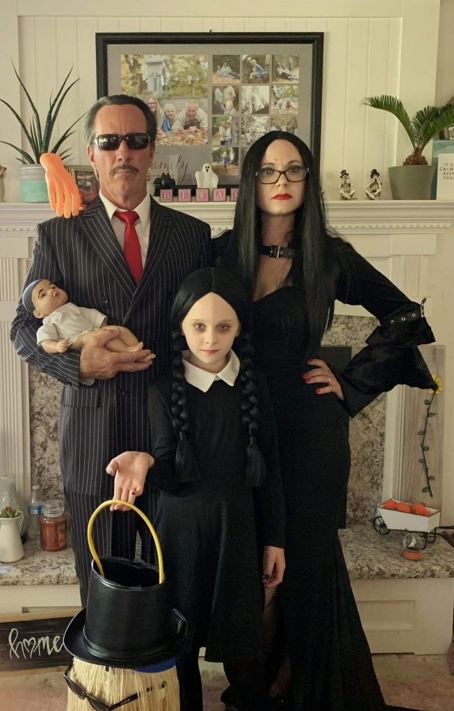 Gene, Halley and Paige Livermore.