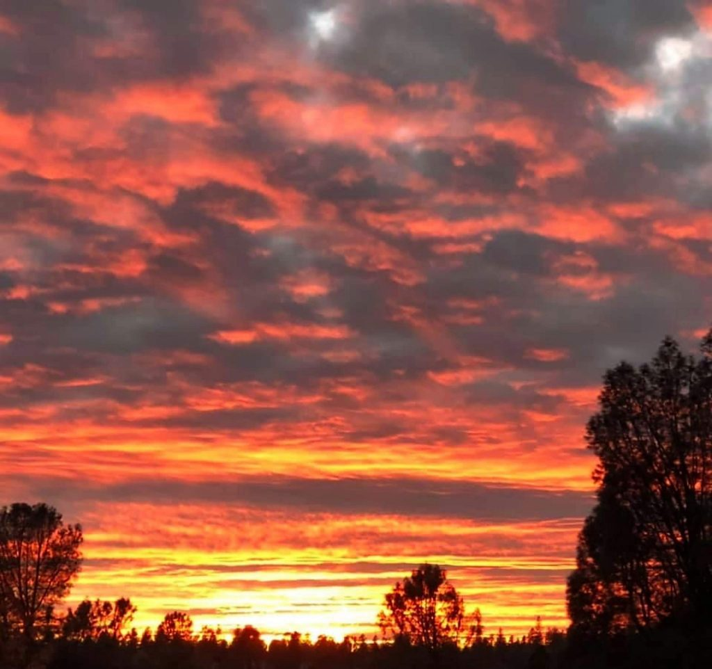 Saturday evening beauty in Grass Valley.
