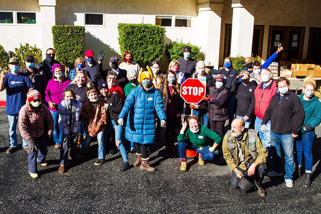 Thanks to the Rotary Club of Grass Valley members who worked with other Nevada County Food Bank volunteers for the Holiday Food Distribution. 4,030 people were served which is 4% of the county.