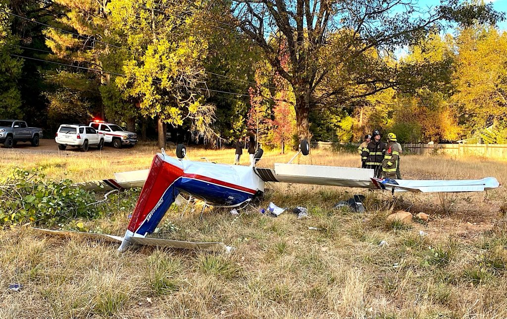 Engine trouble was reported before this Piper airplane crashed Tuesday afternoon.