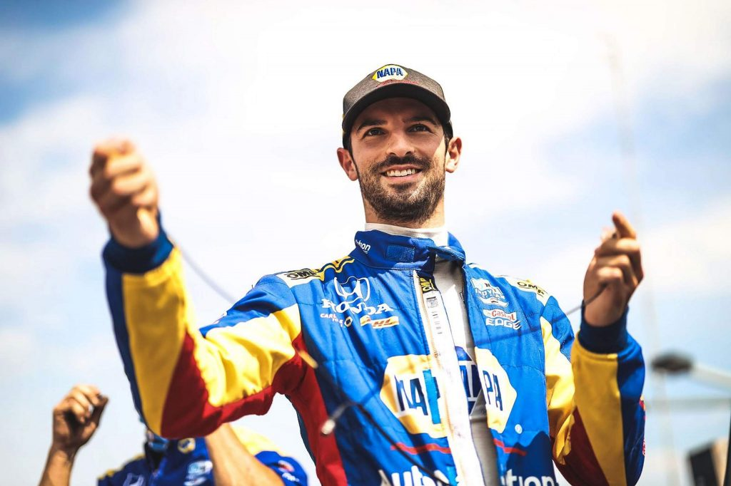 """Alexander Rossi's performance in 2020 interrupted his fairly consistent record, but the racer is taking his results in stride. """"It's been a challenging year for a lot of reason in terms of track performance,"""" the 29-year-old Rossi said. """"It was probably my worst year in my career."""""""