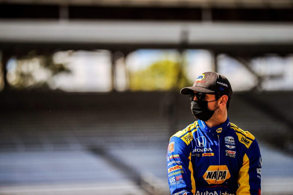 """""""This isn't a ball sport. It's not about losing to one other team. You're going against 25 other people,"""" Rossi said. """"You're going to lose a bunch more races than you win."""" Outcome aside, Rossi said the 2020 IndyCar Series was a completely different experience in an empty stadium — void of the 340,000 warm bodies usually in attendance."""