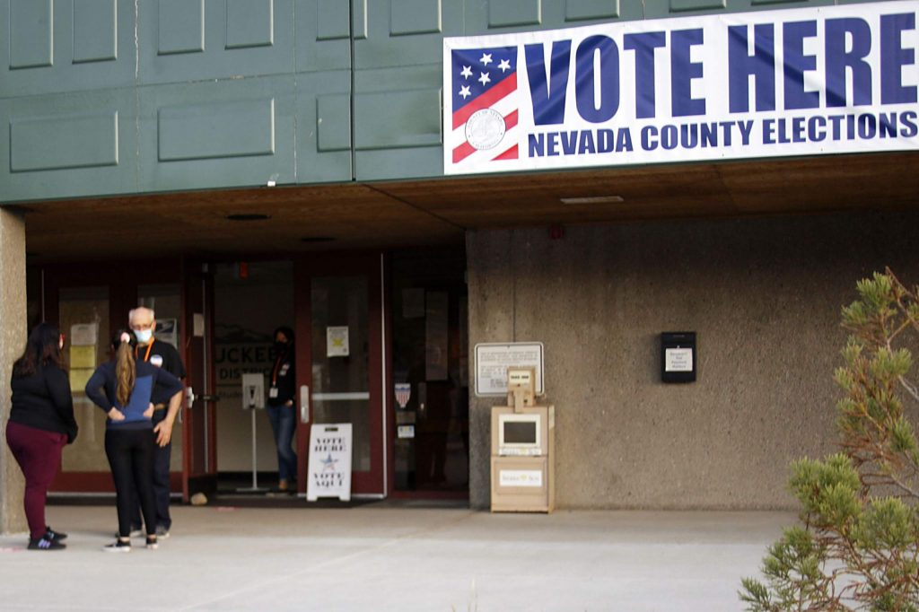 Several voters said the presidential election was the primary reason they turned out to cast ballots on Tuesday.