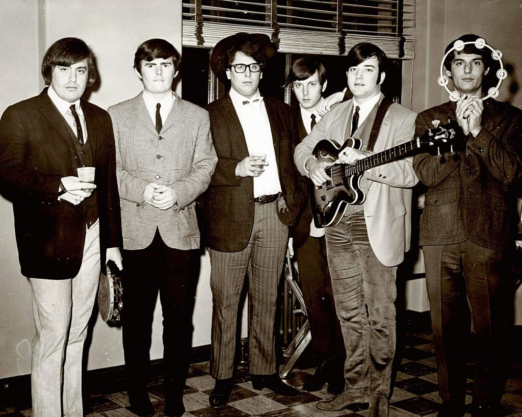 Jim Tucker, far right, was the playful one among the musicians who comprised the 1960s-era band The Turtles.