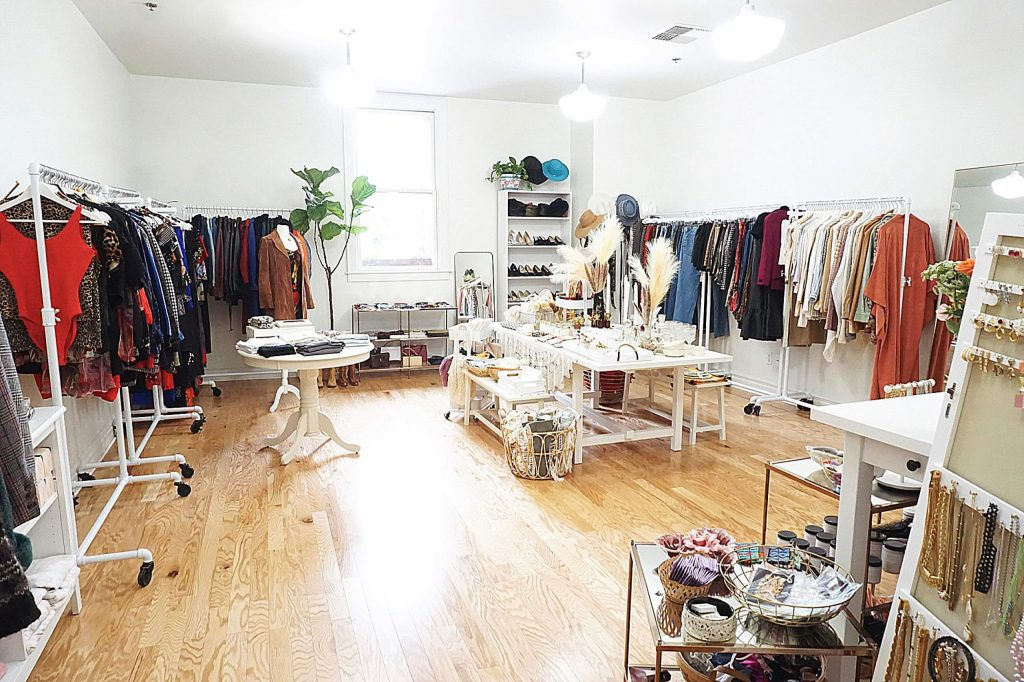 Rose Market, a shop offering vintage and new clothing, sustainability-oriented products, home goods, and beauty products, opened for business in early November.